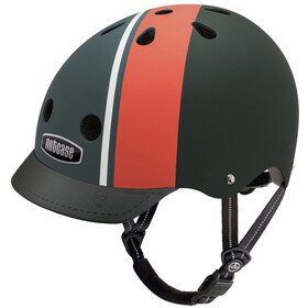 Nutcase Street Helmet Kinder black/red/white
